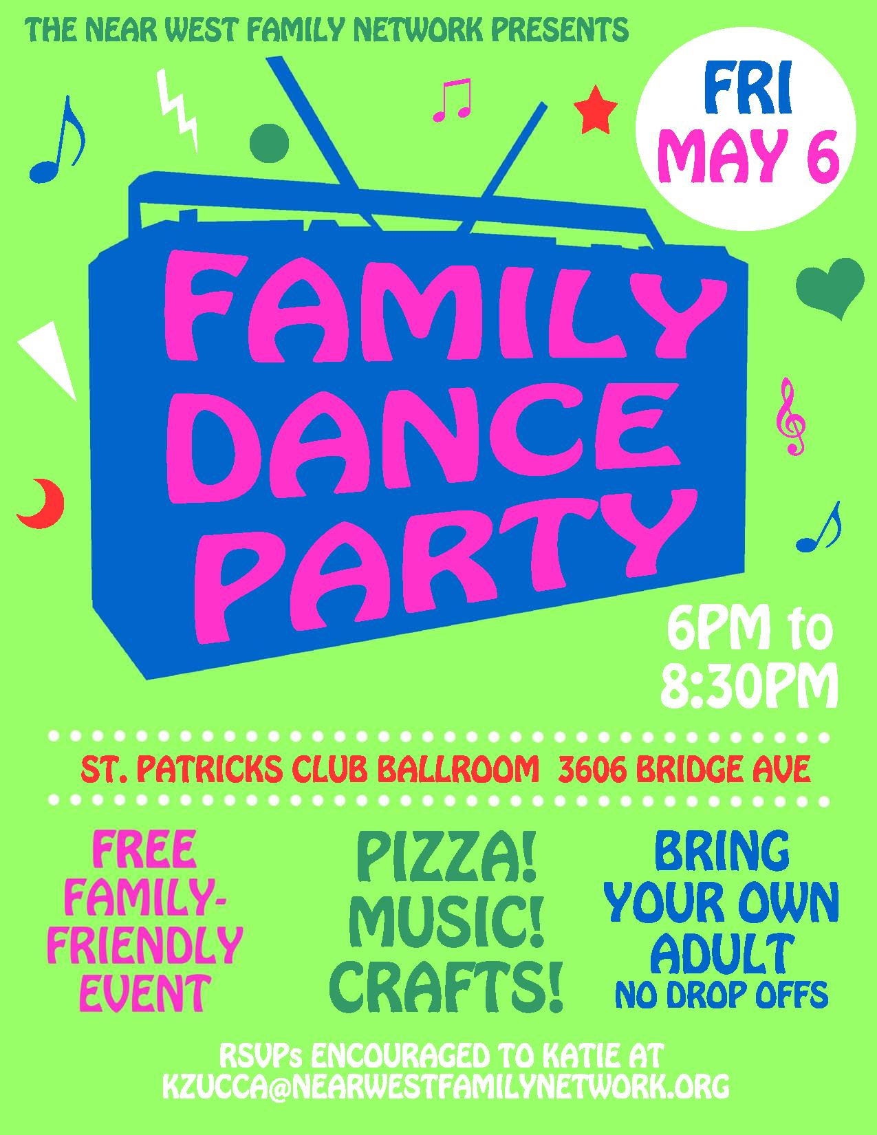 kids dance party flyer page 001 near west family network